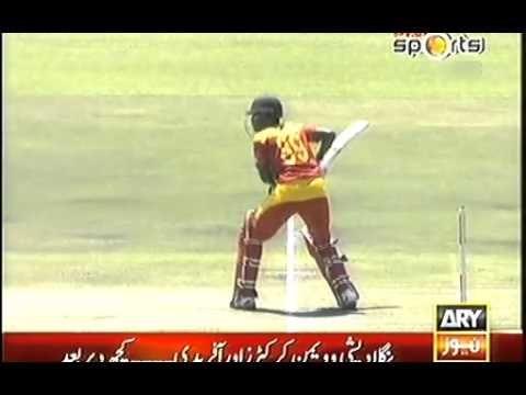Muhammed Irfan Dangerous Bouncer 3rd ODI against Zimbabwe x264