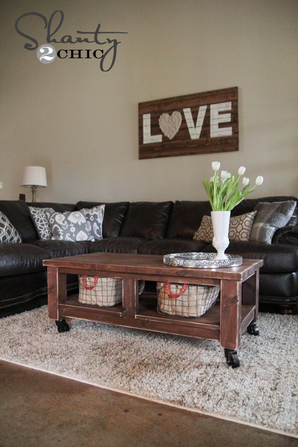 Ana White | Build a Taylors Coffee Table | Free and Easy DIY Project and Furniture Plans