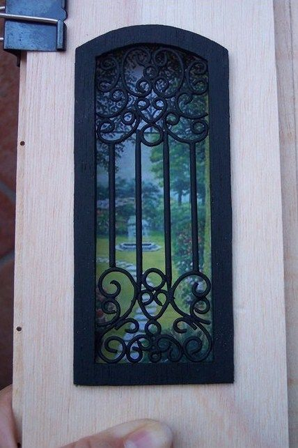how to: putting together a wrought iron window