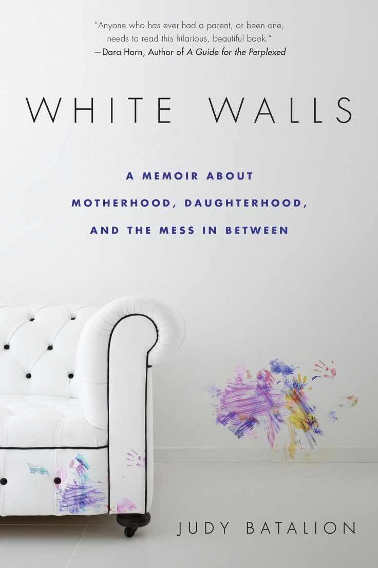 White Walls: A Memoir About Motherhood, Daughterhood, and the Mess In Between - the mess being living with a hoarder.