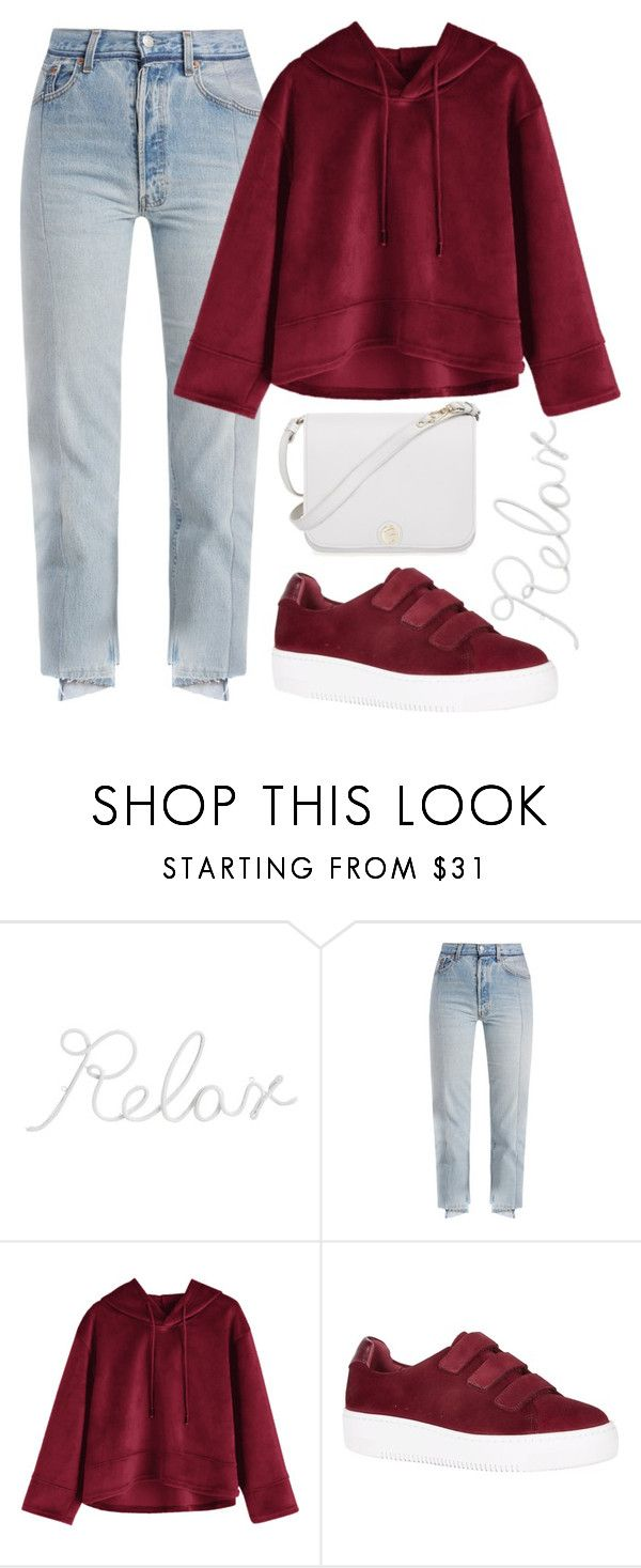 """just relax"" by rocklikeachampion ❤ liked on Polyvore featuring PBteen, Vetements, Sandro, Furla, Hoodies and 205"