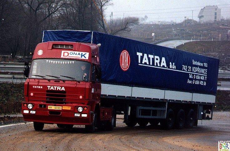 Tatra trucks (République Tchèque). — at Czech Republic.