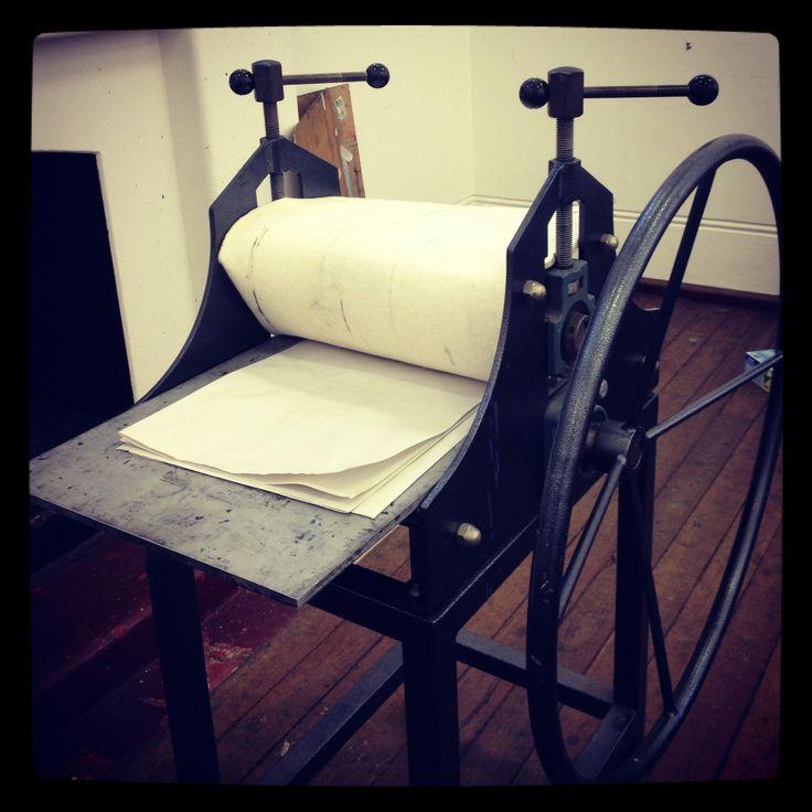 FAC's printing press