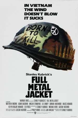 One of my favorite movies of all time - Full Metal Jacket Theatrical poster