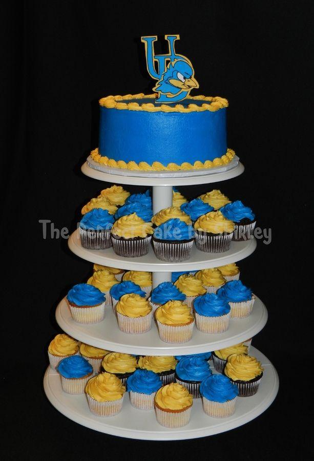 university of delaware cupcakes | for graduate going to University of Delaware, with matching cupcakes ...