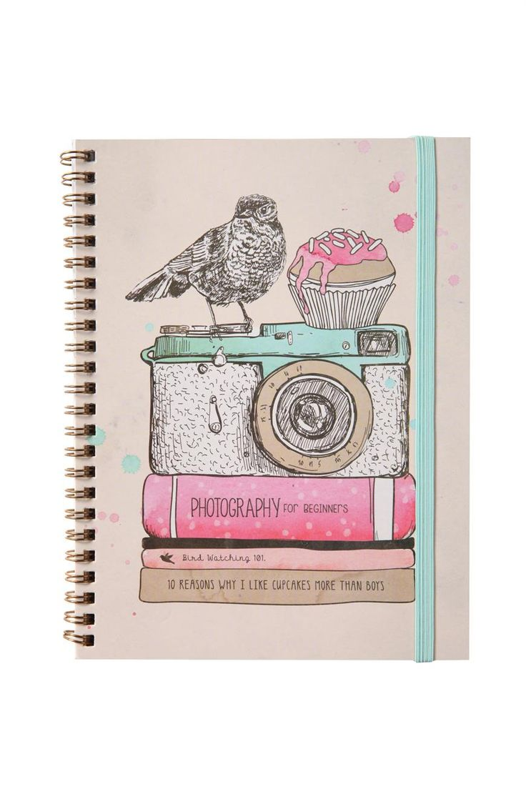 Que lindo cuaderno!