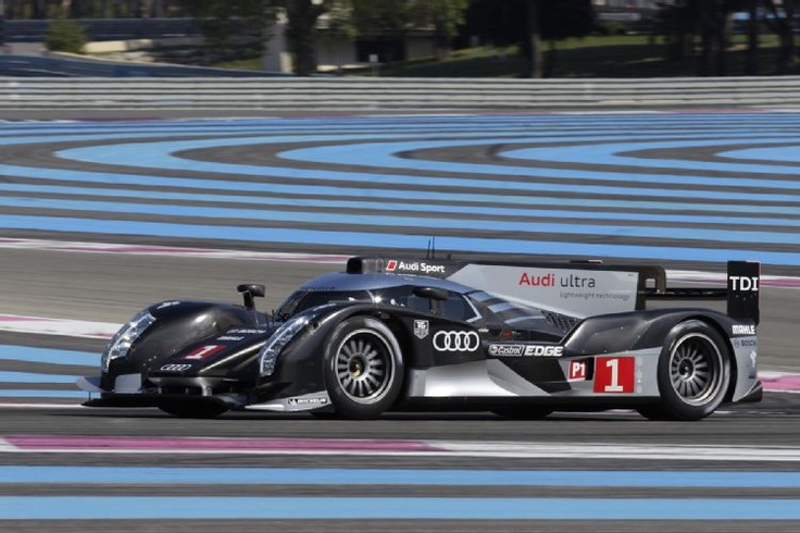 Audi LeMans car. Hope they are racing in the ALMS this year.