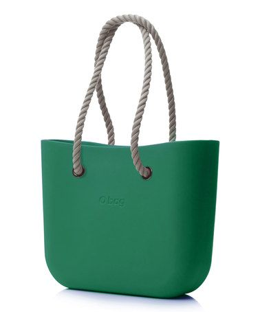 Love this Moss Natural Rope Handle WATERPROOF O Bag on #zulily, $59 !!  #zulilyfinds