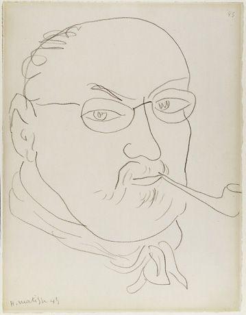 Henri Matisse self-portrait