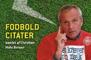"""HUMOR: 150 af de absolut sjoveste fodboldcitater i dansk og international fodboldhistorie er, hvad læserne kan forvente af bogen """"Screw down the expectations"""". #fodbold"""