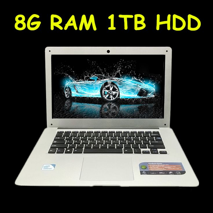 1920x1080 p fhd pantalla 8 gb ram 1 tb hdd windows7/8/10 ultrafino quad core correr rápido laptop netbook del ordenador portátil