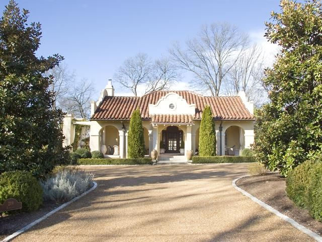 tuscan style homes in tennessee | Spanish Style Home on Bowling Ave | Nashville TN Real Estate