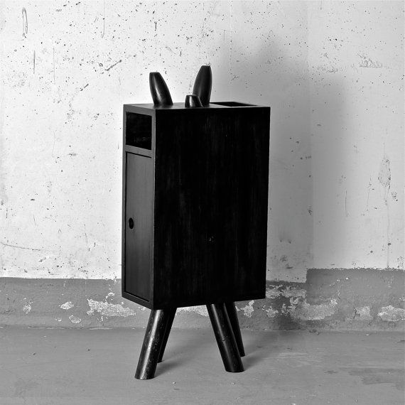 The Narrow Nightstand By Prisonatelier On Etsy 298 00