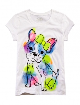 Watercolor Dog Graphic Tee