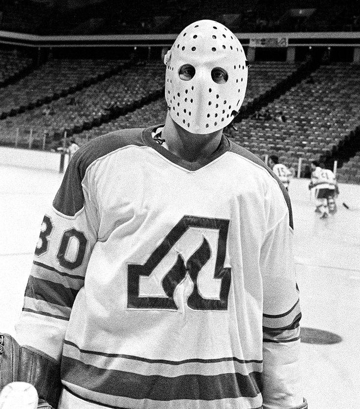 Dan Bouchard   Atlanta Flames   NHL   Hockey