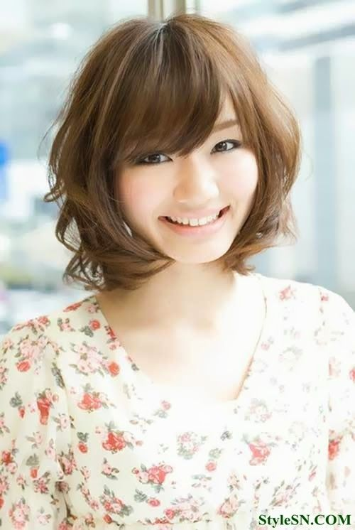 High Quality Images For Japanese Perm Hairstyles 2014