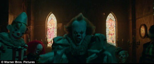 Horror flick: The new two-minute teaser, featuring Bill Skarsgård as the titular Pennywise The Dancing Clown, includes much of the same footage as the one that dropped in March 29
