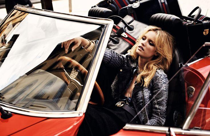 "Elle Italia, December 2011 ""Tanti Auguri Gucci Girl"" photographer: David Burton"