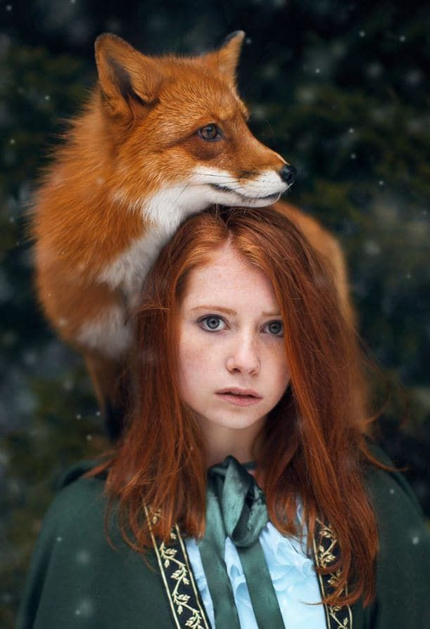 This Surrealist Photographer Uses Nature As Her Muse, And It's Stunning