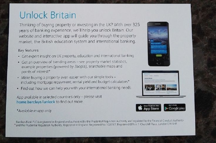 a dot barclays site is used by the brank to support its unlock britain campaign. #dotbrand #gTLD #brandTLD