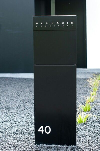Bravios brievenbus els louis design architect mailbox