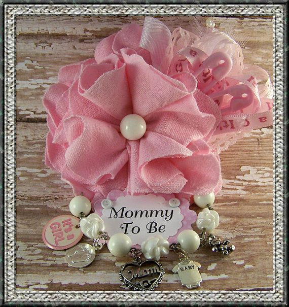 pink mommy to be corsage baby shower corsage mom by