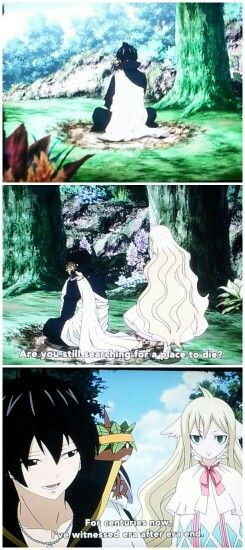 Fairy Tail Zeref and Mavis