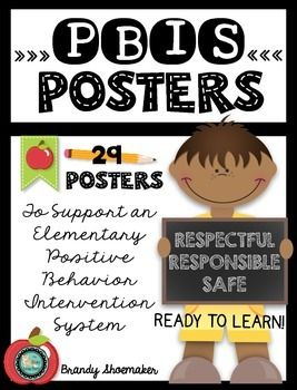 PBIS Posters: Be Responsible, Be Respectful, Be Safe & Ready to Learn. ***After many requests for changes to fit different school PBIS expectations/wording, I have made this an EDITABLE file! Included are my 38 original posters in PDF form plus an editable Keynote/PowerPoint file.