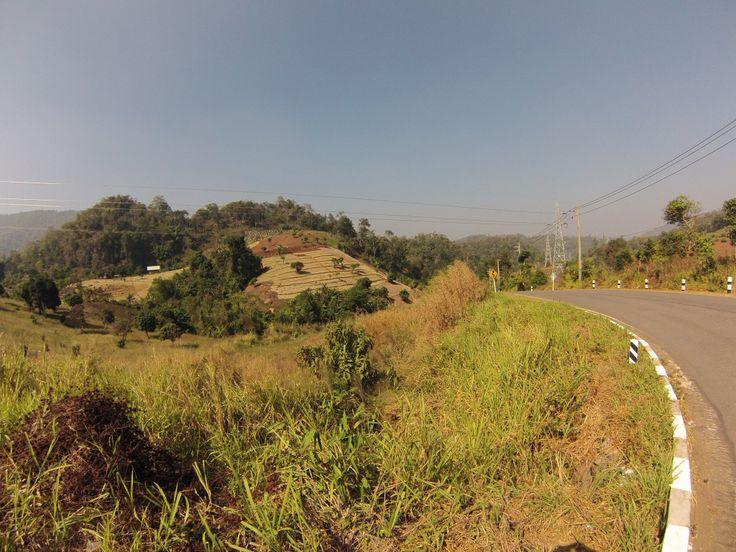 Mae Hong Son loop. Road.