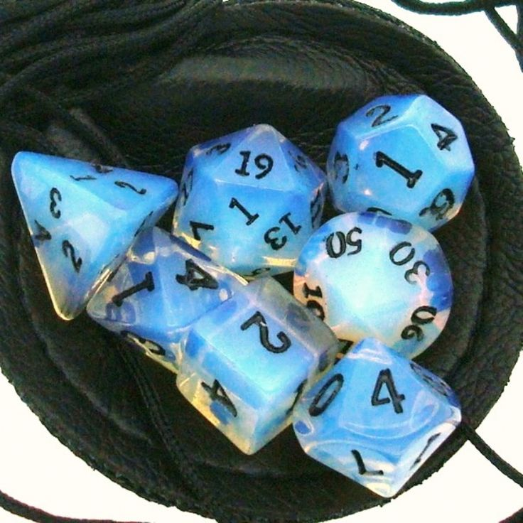Opal dice!  I need these!!!