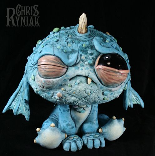 "Baby Blewgle    for the ""Year Of the Dragon"" show at Dragatomi, February 11, 2012"
