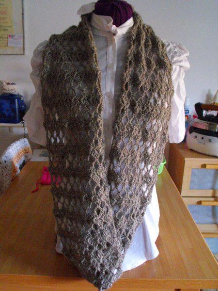 Sciarpe - Sciarpa a cerchio in misto lana - un prodotto unico di Margherita55 su…