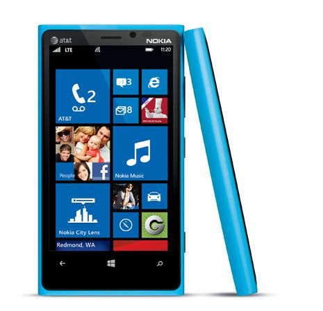 Cyan Nokia Lumia 920 :) yes please