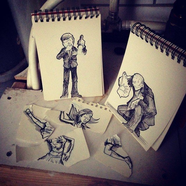 Pieces Of A Paper Crime  18 Creative & Arty Cartoon Bomb Drawings That Will Leave You Amazed • Page 4 of 5 • BoredBug