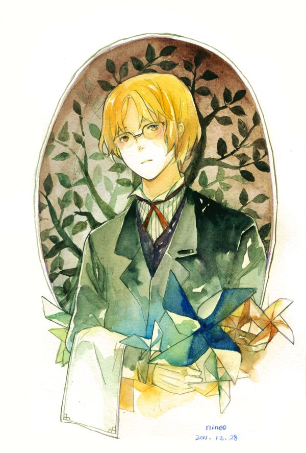I love how Matthew looks here. - Art by Nineo