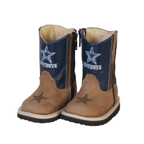 Dallas Cowboys Infant/Toddler Blue Western Work Boot | Dallas Cowboys Clothing | Dallas Cowboys Store - Dallas Cowboys Pro Shop