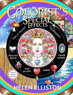 aa Front cover with gems, Colorist's Special Effec