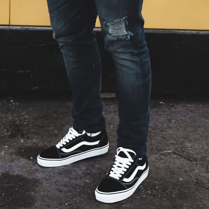 Vans Old Skool BLACK. •FIRST COPY• Next