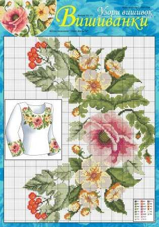Latest summer updates. Let's have a look at embroidered shirts (vyshyvanka) featuring geometric and floral patterns. These can be found at http://dianaplus.eu/embroidery-cross-stitch-patterns-mini-edition-embroidered-shirts-c-260_148_115.html?page=3=products_sort_order