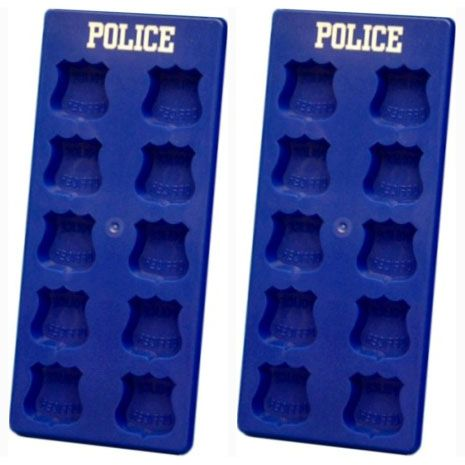Police Officer Ice Cube Tray