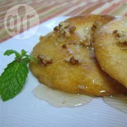Foto da receita: Buñuelos (bolinhos mexicanos)