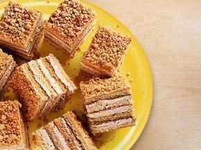 Rychlé medové řezy - Recepty na každý den