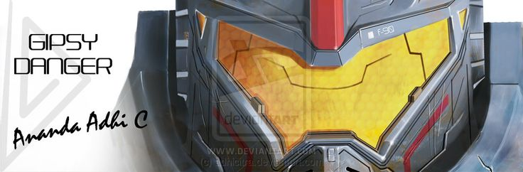 Gipsy Danger Desain Sampul Fb Mini by adhicitra