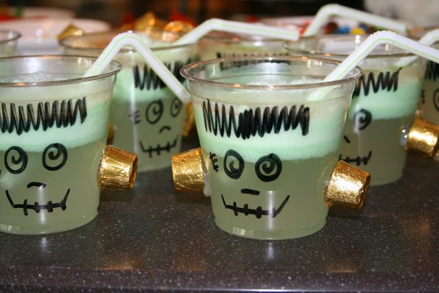 Frankenstein Punch (Lime Sherbert Punch) | Halloween obsession! | Pin ...