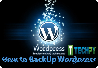 How to back up WordPress Site