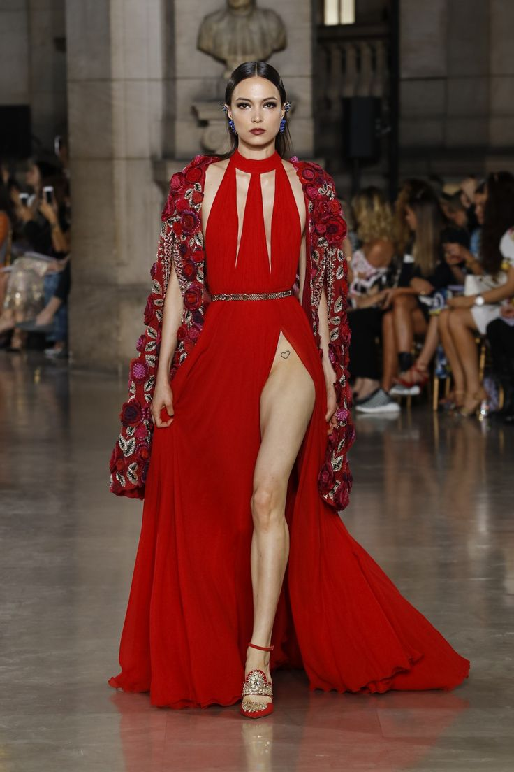 Georges Hobeika | Haute Couture Fall-Winter 2017-18 | Look 29