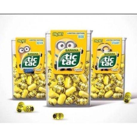 Tic Tac Minions 24g