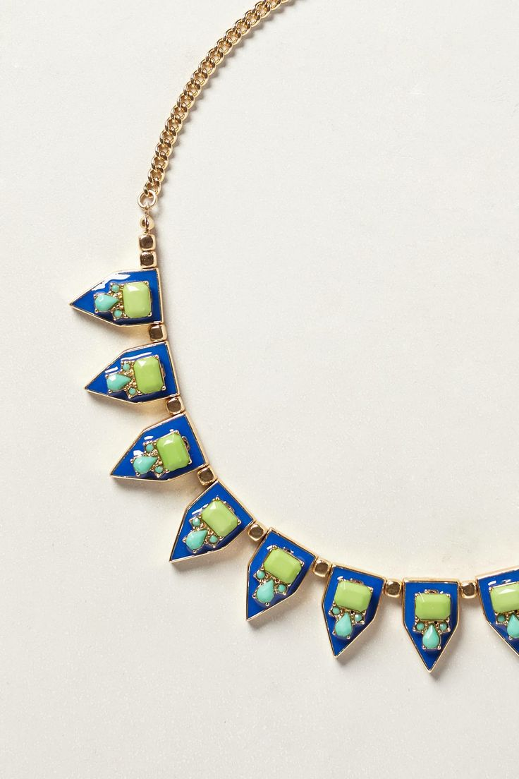 Easter Island Necklace - anthropologie.com  ~  Different! I've always liked those Easter Island guys  :)