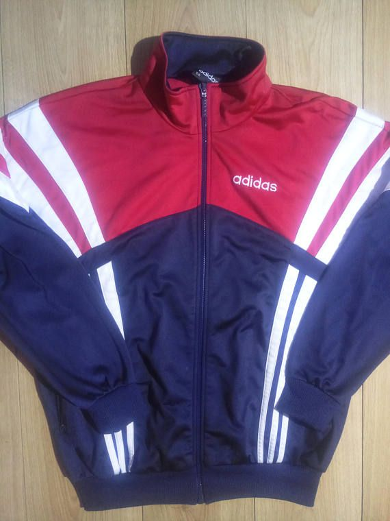 Check out this item in my Etsy shop https://www.etsy.com/listing/564368458/adidas-90s-vintage-mens-tracksuit-top