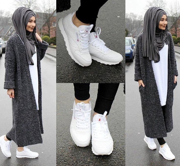 "10.2k Likes, 90 Comments - Sümeyye Coktan Onun Yari (@hijab_is_my_diamond_official) on Instagram: ""Cardigan - Bershka Shirt - Zara Shoes / Schuhe / Ayakkabilar - Reebok Classic"""